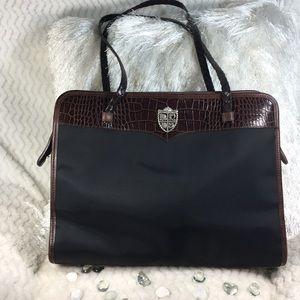 🎉HP🎉EUC Brighton Black and Brown Bag